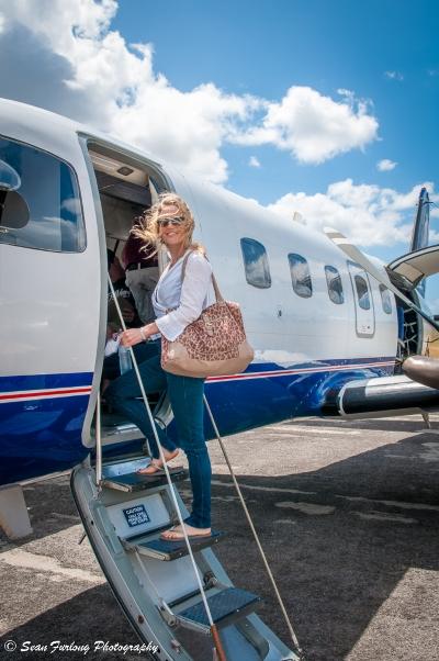 Flight to Mozambique. Photo - Sean Furlong